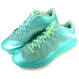 sports shoes a9e5f 802bf Nike LeBron X Low Easter 579765-300 Sneakers 9.5